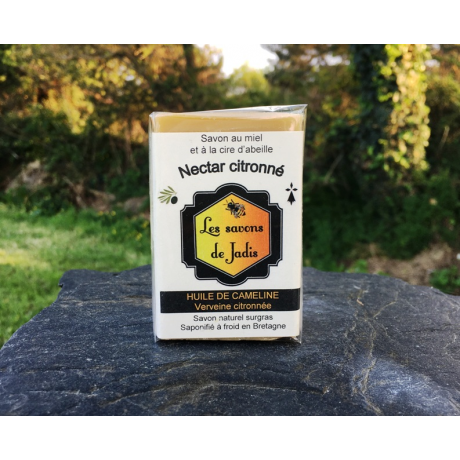 nectar citronné - savon naturel surgras artisanal