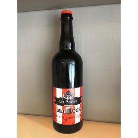Bière rousse  La Bernik 75 cl