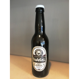 Bière hoppy blanche 33 cl Kanarfoll