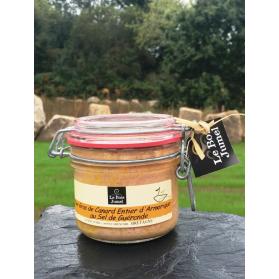 foie gras de canard breton entier au sel de guérande