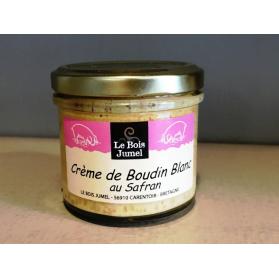 Crème de boudin blanc au safran