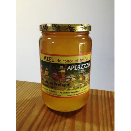 miel ronce trèfle