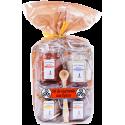 Sel de Guérande aux épices - lot de 4 verrines