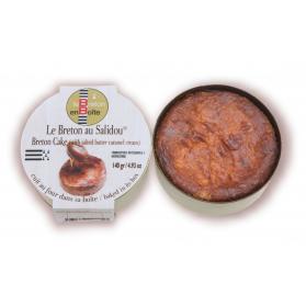 gâteau breton au Salidou en boite artisanat produit breton