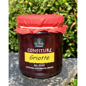 confiture Griotte au miel