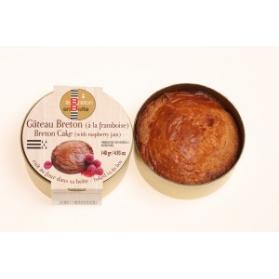 gâteau breton à la framboise en boite