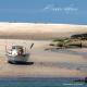 Carte de voeux  -  île Molène, cote de granit rose