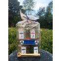 Sel de Guérande aux algues - lot de 4 verrines