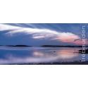 Carte postale - coucher de soleil au Toeno - Regards sur Trébeurden