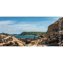 Carte postale - milliau depuis molène - Regards sur Trébeurden