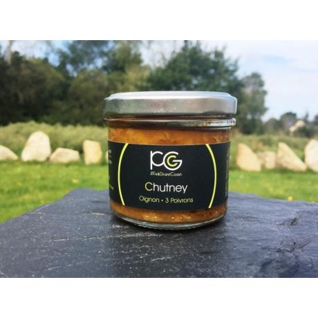 chutney oignon 3 poivrons