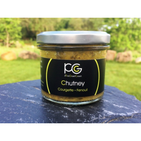 Chutney courgette Fenouil
