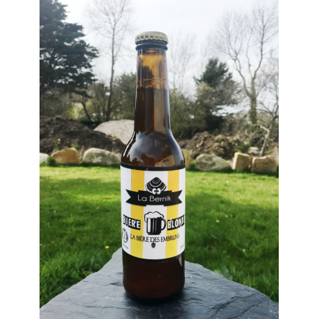 bière blonde de Trégastel