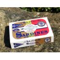 Sardines à l'huile d'olive bio et au piment millésime premium