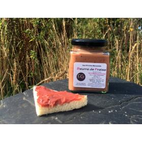 beurre de fraise - artisan breton
