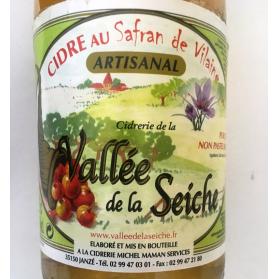 cidre et safran bio breton